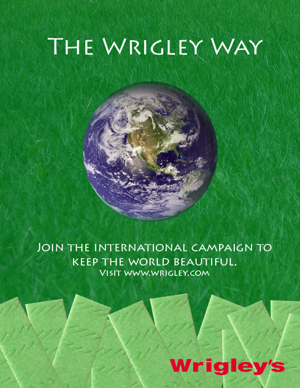 "Advertising for Wrigley's ""Green"" Campaign"